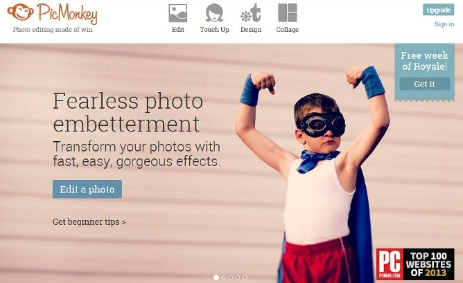 PicMonkey Free Online Photo Editor