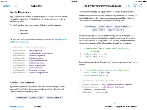 Apple Swift Programming Language E-book Free Download For Programming iOS and OS X apps