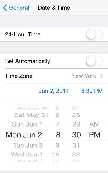 How to Setting Date & Time for iPhone, iPad