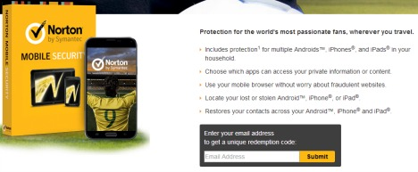 norton mobile security serial key free