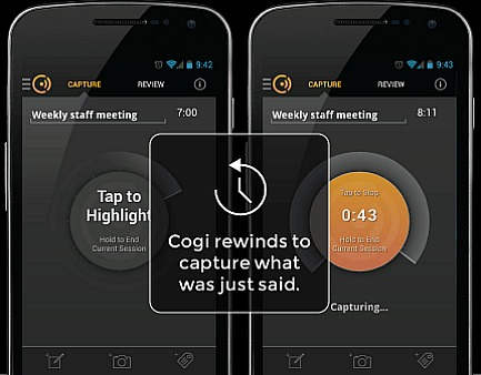 Cogi – Notes & Voice Recorder (The Best Voice Recording App for Android)