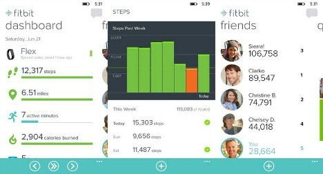 Fitbit app for Windows 8.1