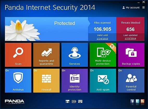 Panda Internet Security 2014 Free Genuine 6 Months Subscription Direct Download Link
