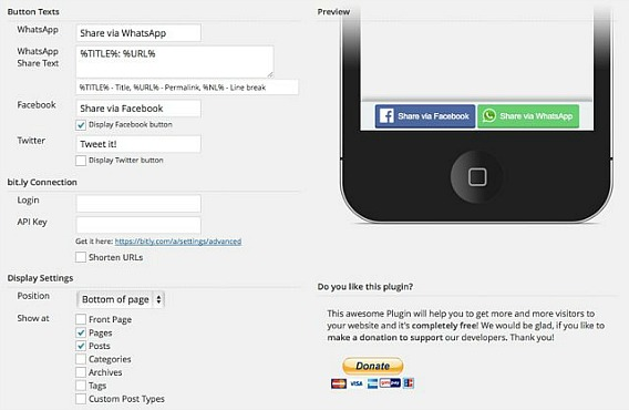 How To Add Whatsapp Sharing Button On WordPress Website or Blog for iOS