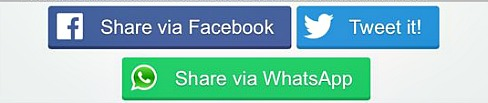 How To Add Whatsapp Sharing Button