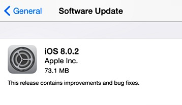 Apple iOS 8.0.2 For iPhone, iPad, iPod touch Direct Download Links
