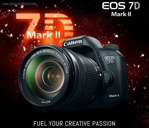 Canon EOS 7D Mark II With 20.2-megapixel and 65-point Autofocus Starting Price $1,799