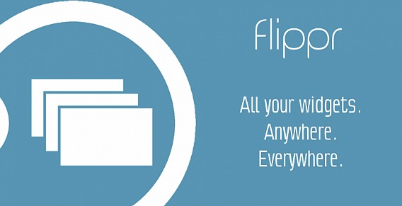Flippr - Flip Widgets Anywhere Without Return To The Device Homescreen