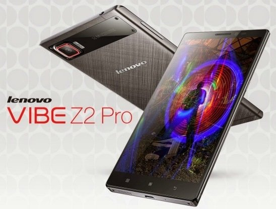 Lenovo Vibe Z2 Pro First Selfie 64-bit Android-based Smartphones
