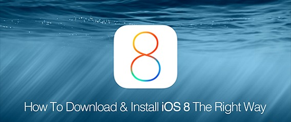 iOS 8 for iPhone, iPod touch and iPad Direct Download Link (iOS 8 Firmware Changelog)