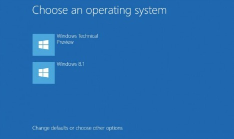 How to Dual Boot Windows 7 or 8 with Windows 10 Technical Preview