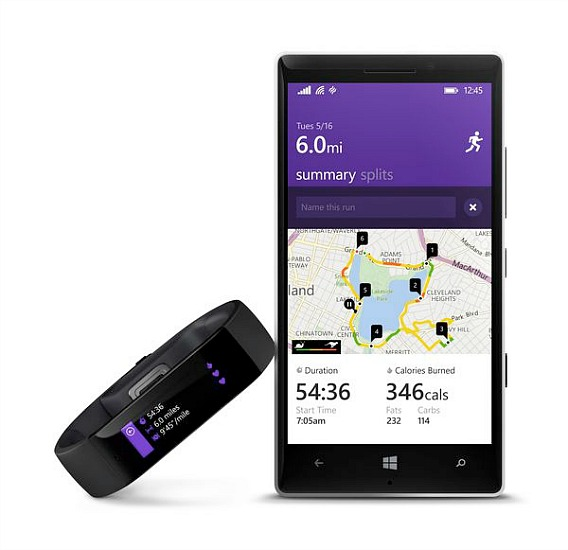 Microsoft Band - Microsoft First Fitness Wearable