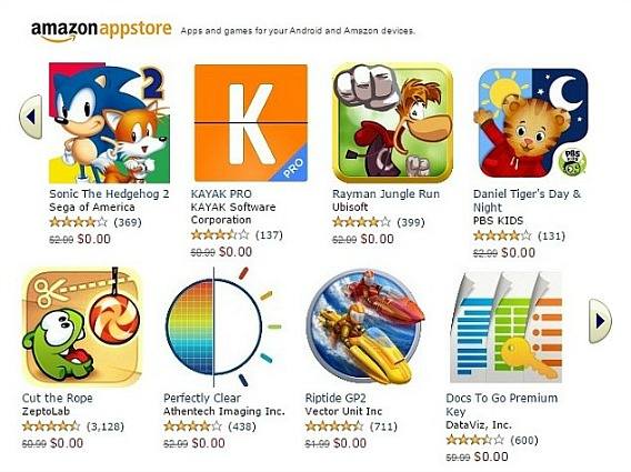Amazon Appstore Free Download For 39 Apps Worth $130