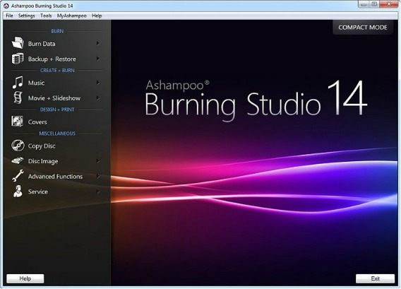 Ashampoo Burning Studio 2014 Free Version License Serial Key Free Download