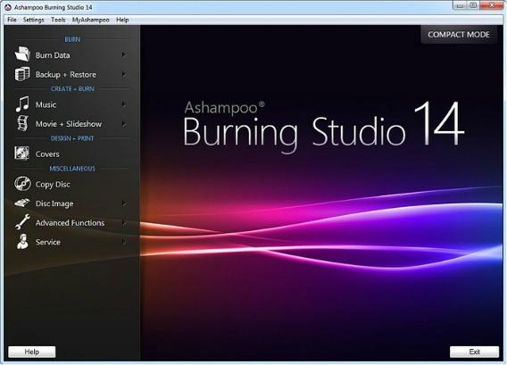 Ashampoo Burning Studio 2014 Free Version License Serial Key Free Download