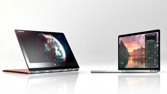 Lenovo Yoga 3 Pro vs MacBook Air specs comparison Lenovo beats Apple in a 'dance-off'