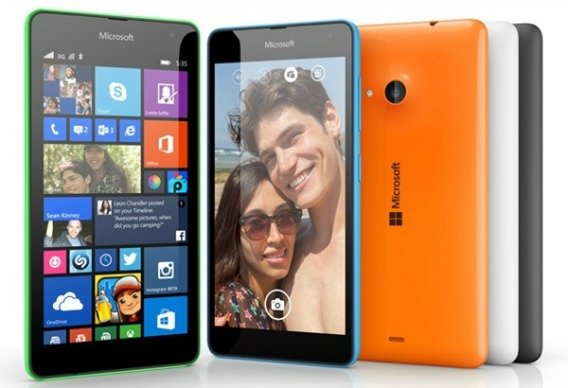 Microsoft's Lumia 535 - First 5x5x5 Microsoft Branded Smartphone