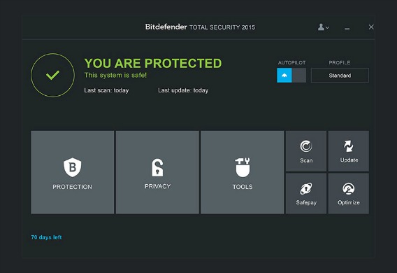 BitDefender Total Security 2015 Free Download With 6 Months Genuine License Key