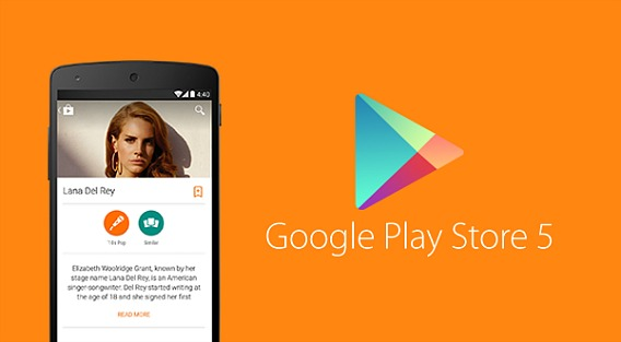 Google Play Store 5.0.38 APK Released for Free Download With New Android L Material Design