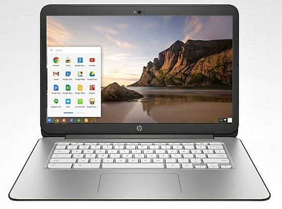 HP Chromebook 14 with Awesome Full HD WLED Touchscreen Display