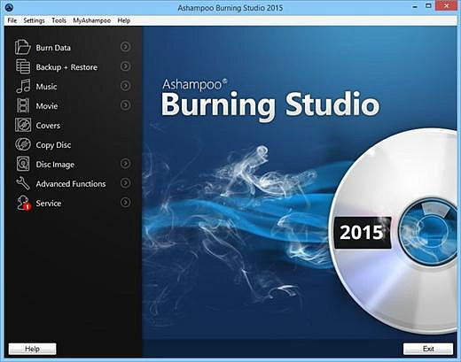 Ashampoo Burning Studio 2015 Free Full Version With Genuine Registration Key Download