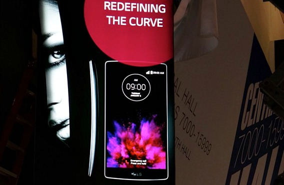 LG G Flex 2 Leaks Out Before its scheduled announcement At CES 2015