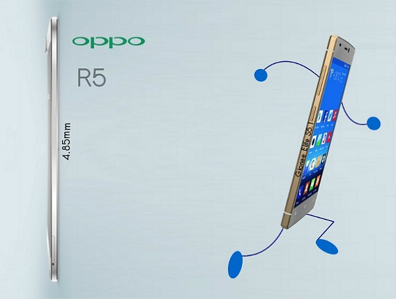 Oppo R5 World Thinnest Smartphone With Price Rs 29,990 in India