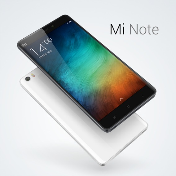 Xiaomi Mi Note Available With Slim, Curved, and Powerful 5.7-inch Touchscreen Display