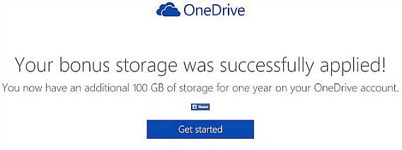 Microsoft Offers 100GB of Free OneDrive Storage to Dropbox Users Worldwide