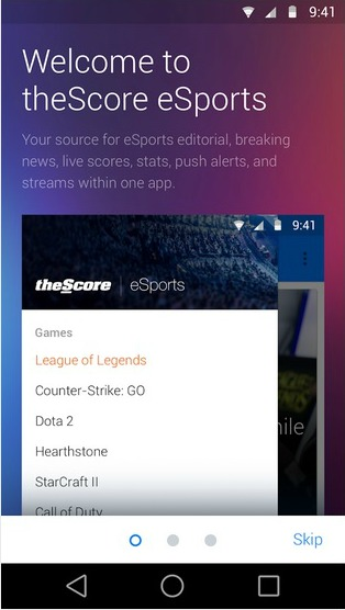 TheScore launches mobile app for e-sports