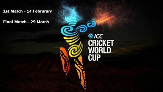 Watch Cricket World Cup 2015 Live Stream On iOS, Android, Desktop Coverage For US, UK, India, Pakistan, Australia
