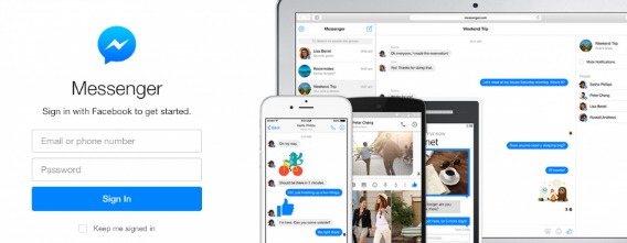 Facebook Launched Messenger.com for Web with Standalone Browser Version