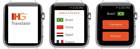 IHG Translator App Let Everyone Speak Foreign Languages With Apple Watch