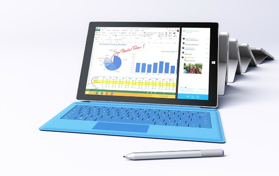 Microsoft Surface 3 Price in Asia-Pacific region