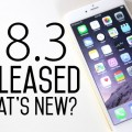 iOS 8.3 for iPhone, iPod touch and iPad Released for Download ( Changelog and Direct Download Link)