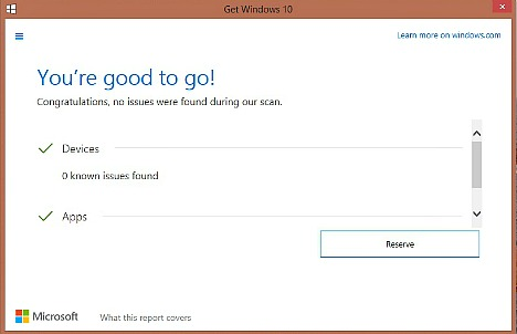 How To Quickly Check Your PC and App Compatibility With Windows 10 Upgrade Before Reserve Windows 10 Copy