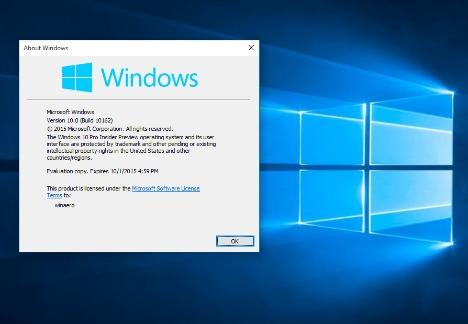Windows 10 build 10162 failing product activation issues for Windows products