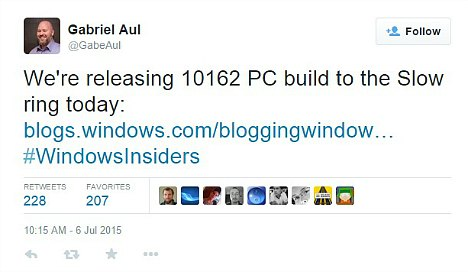 Windows 10 Build 10162 Finally Rolling Out to Slow ring Members After Released the ISO files