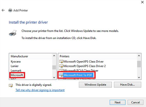 How to Enable Print to PDF Feature in Windows 10 Without Install Any PDF Application  setting
