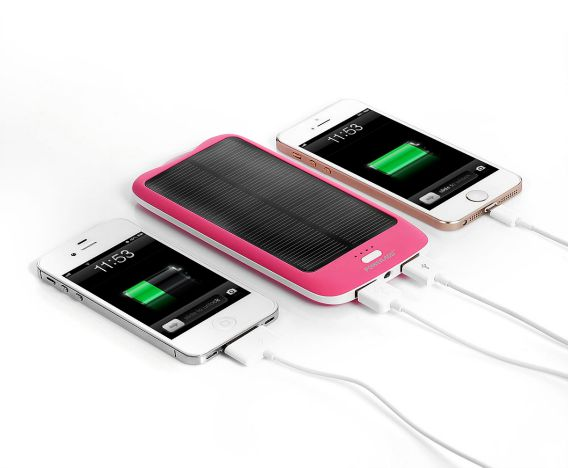 Poweradd Apollo2 10000mAh Solar Power Bank Powered By The Sun