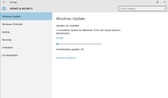 Windows 10 Cumulative Update KB3081438 Rolls Out To Fix Windows Store Signing Issues