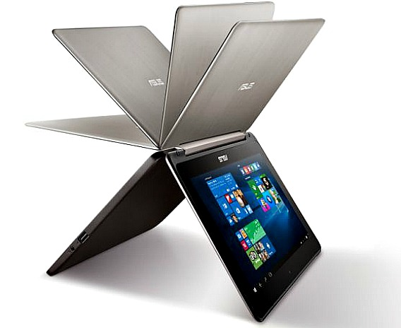ASUS Transformer Book Flip TP200SA 360-Degree Convertible Laptop With Quad-core Processor