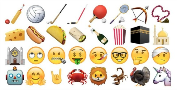 Complete Guide and Names to the New Emoji in iOS 9.1