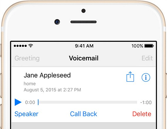 How To Save and Share Voicemails on iPhone in iOS 9