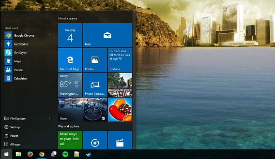 How to Launch Start Menu Fast In Windows 10