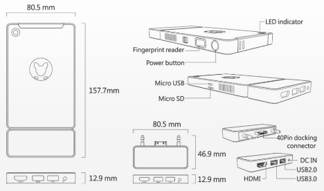 Kangaroo - World Smallest Portable Windows 10 PC With Price $99
