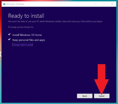 Windows 10 November Update Build 10586 - How PC getting the Windows 10 November Update without Stuck