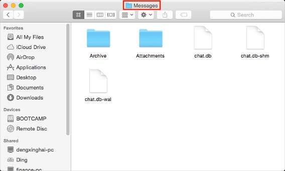 How To Transfer iMessages Archives From Old Mac to New Mac book 6