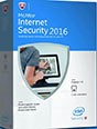 Enjoy 6-Month of McAfee Internet Security 2016 Full Version Download and Genuine License Serial Key box