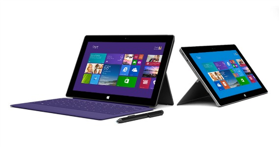 Surface Pro and Surface Pro 2 Official Available Firmware Updates